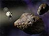NASA's Orion spacecraft flies toward asteroids