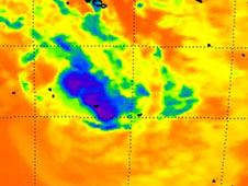 AIRS image of Haley