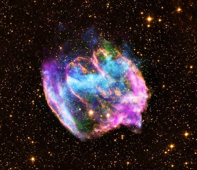 NASA - Supernova Remnant W49B