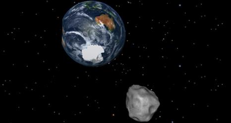 Artist's concept of Asteroid 2012 DA14