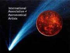 Poster for the IAAA, the International Association of Astronomical Artists