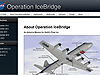 Screen grab of IceBridge Science website showing graphic of P-3B with location of science instrument sensors indicated.