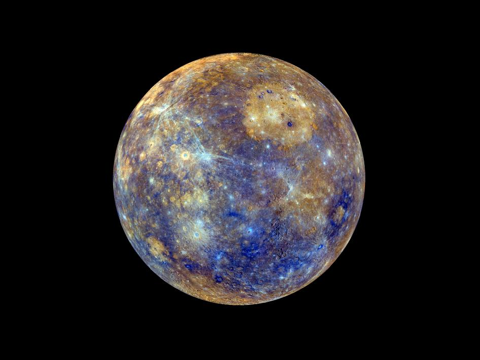 Image from Orbit of Mercury: Colors of the Innermost Planet: View 1