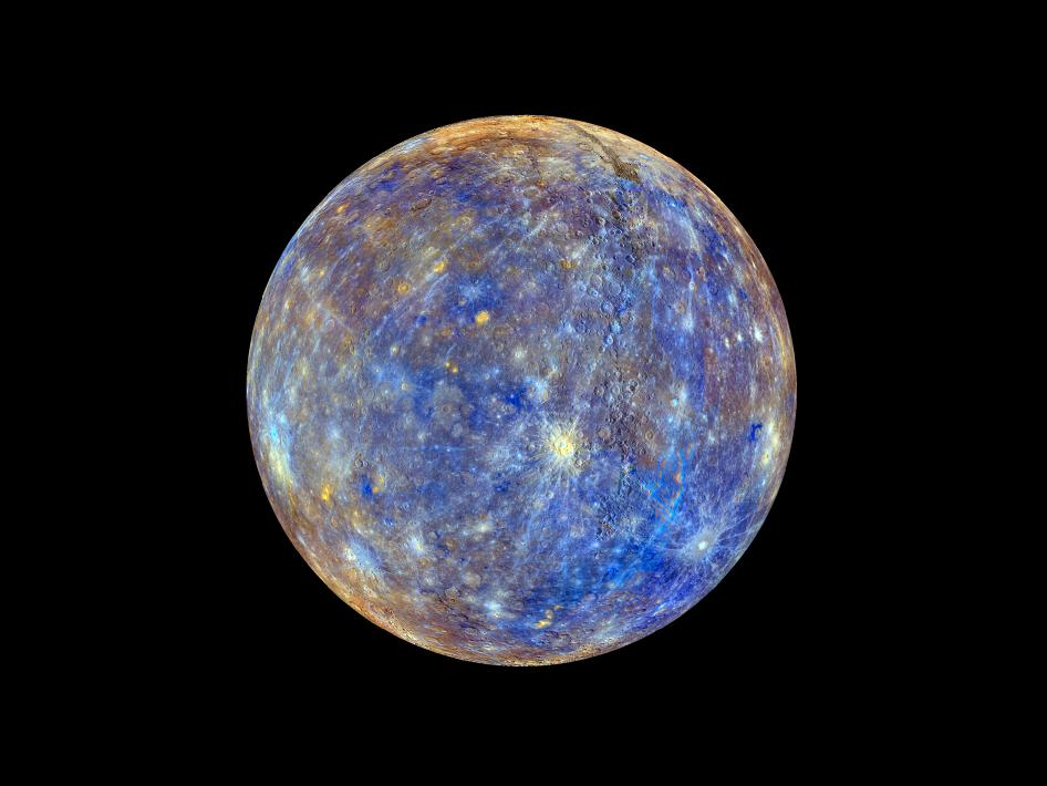 Image from Orbit of Mercury: Colors of the Innermost Planet: View 2