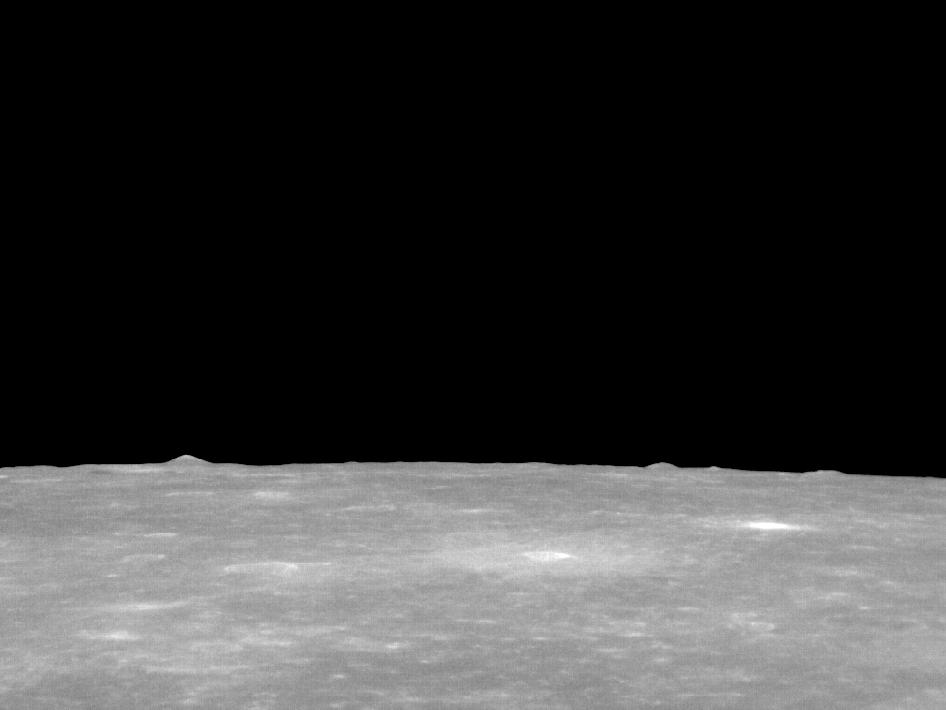 Image from Orbit of Mercury: Mountains in the Distance