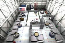 Boeing concept of CST-100 operations in C3PF