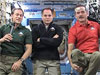Tom Marshburn, Kevin Ford and Chris Hadfield