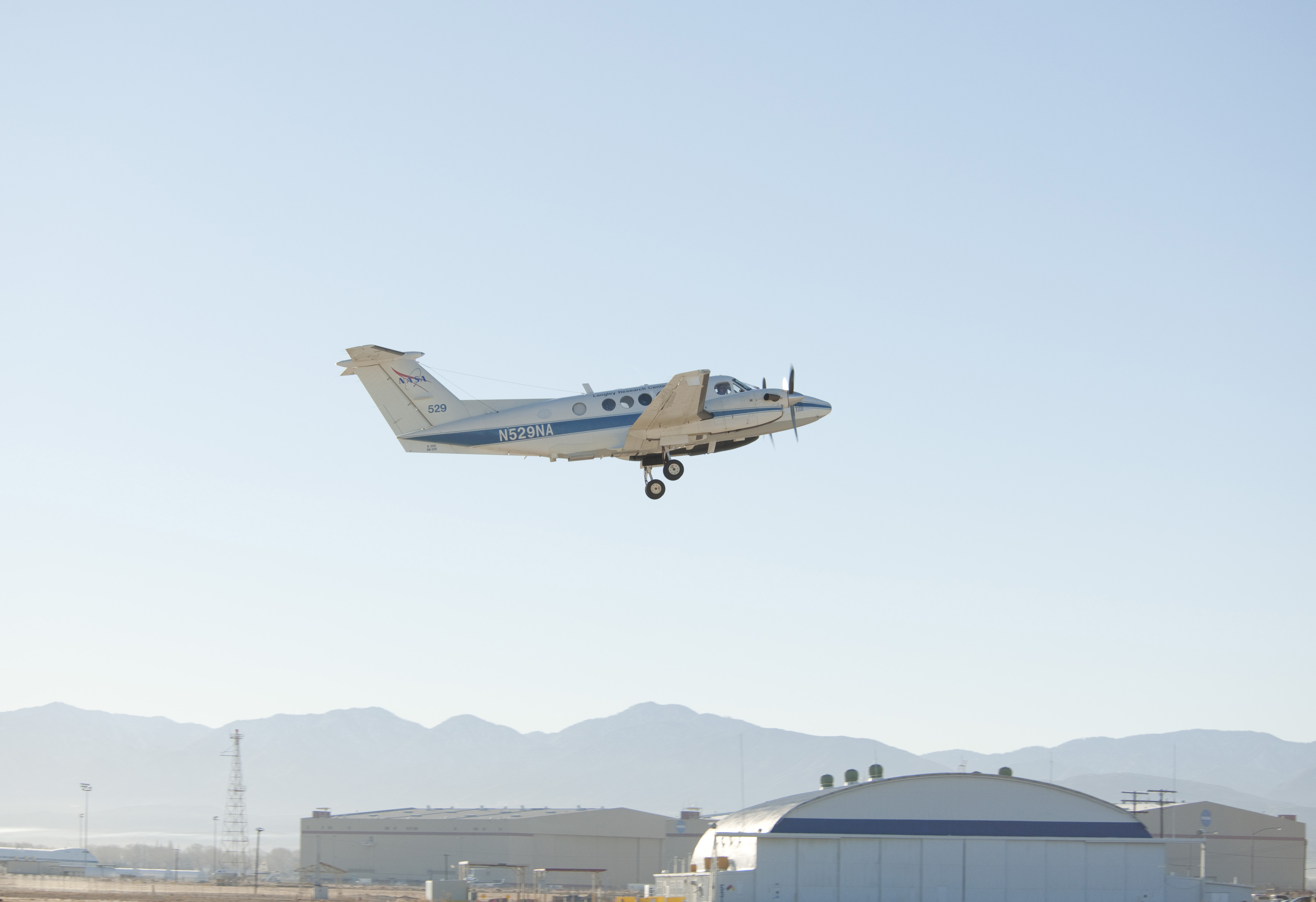 Nasa air quality research campaign concludes in california for Nasa air study
