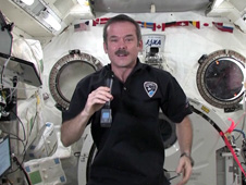 Flight Engineer Chris Hadfield