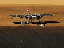 Artist's rendition of InSight