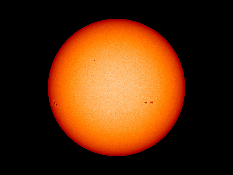 NASA.gov image for 3/7/2013.  Practically no sunspot activity.