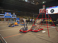 Robotic competitors in FIRST