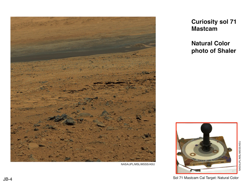 Using Curiosity's Mast Camera to View Scene in 'Natural' Color
