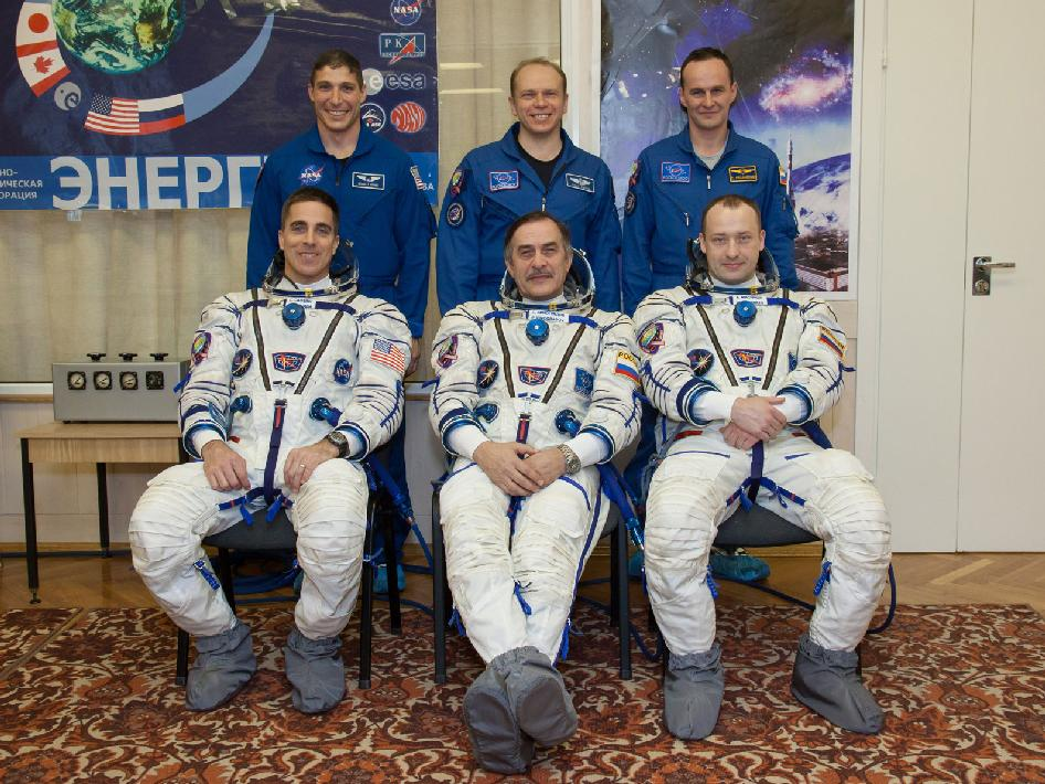 Expedition 35-36 Prime and Backup Crews