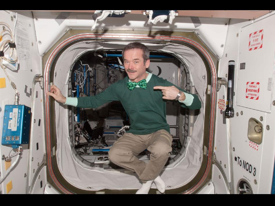 Expedition 34 Commander Chris Hadfield