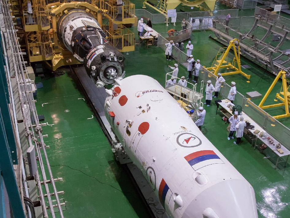 Soyuz TMA-08M spacecraft