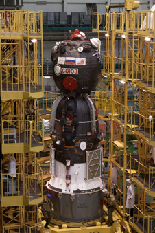 jsc2013e018015 -- Soyuz TMA-08M spacecraft
