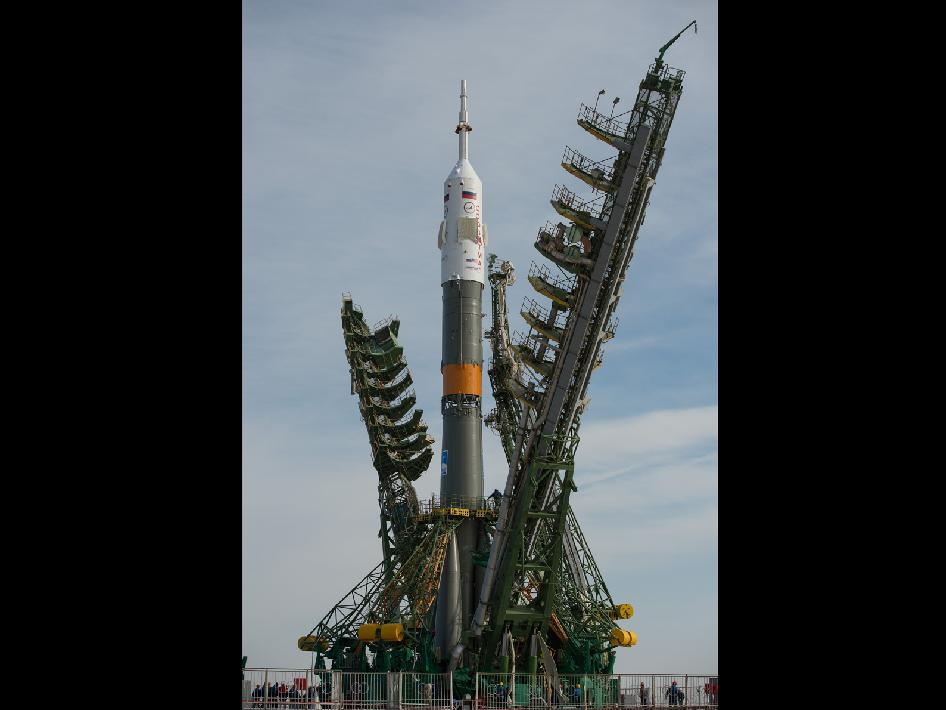 The Soyuz TMA-08M spacecraft