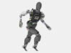 Atlas, a humanoid robot from Boston Dynamics based on its Atlas robot platform, has seven degrees of freedom in each arm, six degrees of freedom in each leg, and a sensor head with stereo vision and laser radar. It is being designed specifically for meeting the demands of the challenge.