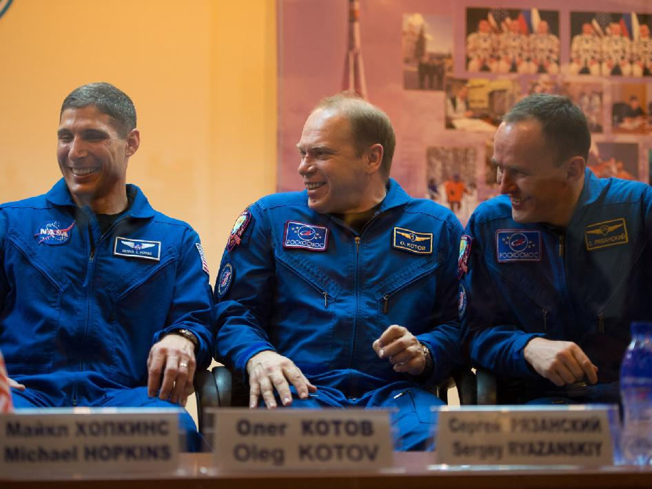 Expedition 35 backup crew members