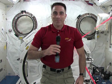 Expedition 35 Flight Engineer Chris Cassidy
