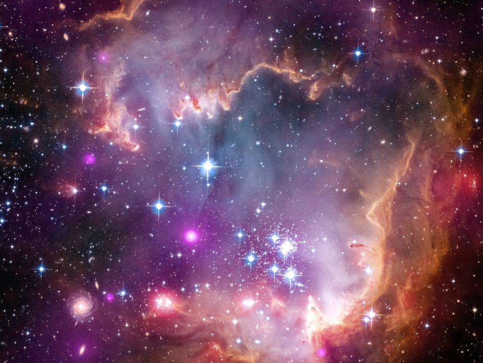 Small Magellanic Cloud galaxy
