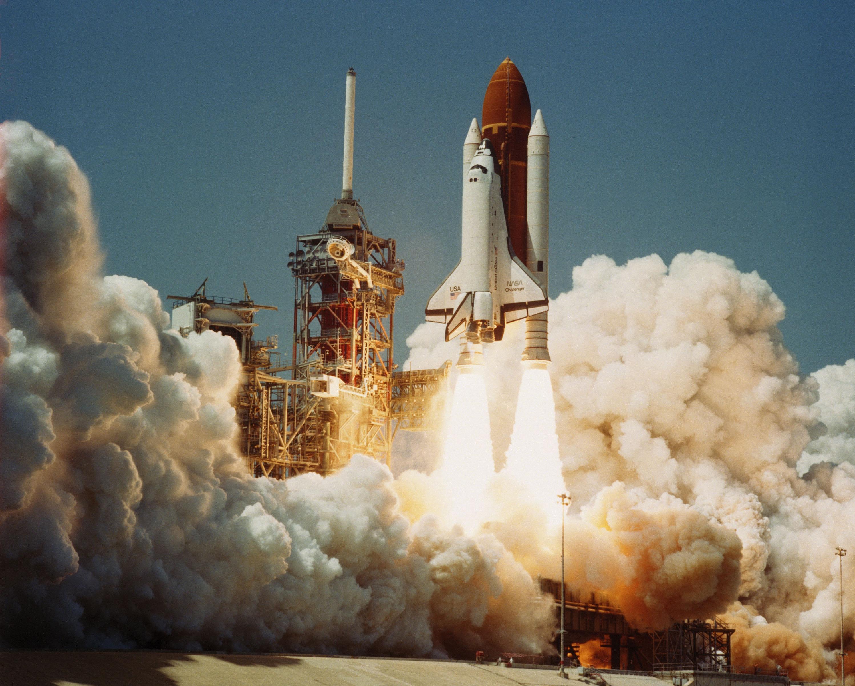 NASA - NASA's TDRS Era Began During Challenger's Maiden Voyage