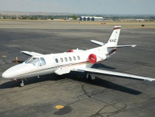 USFS Cessna Citation jet