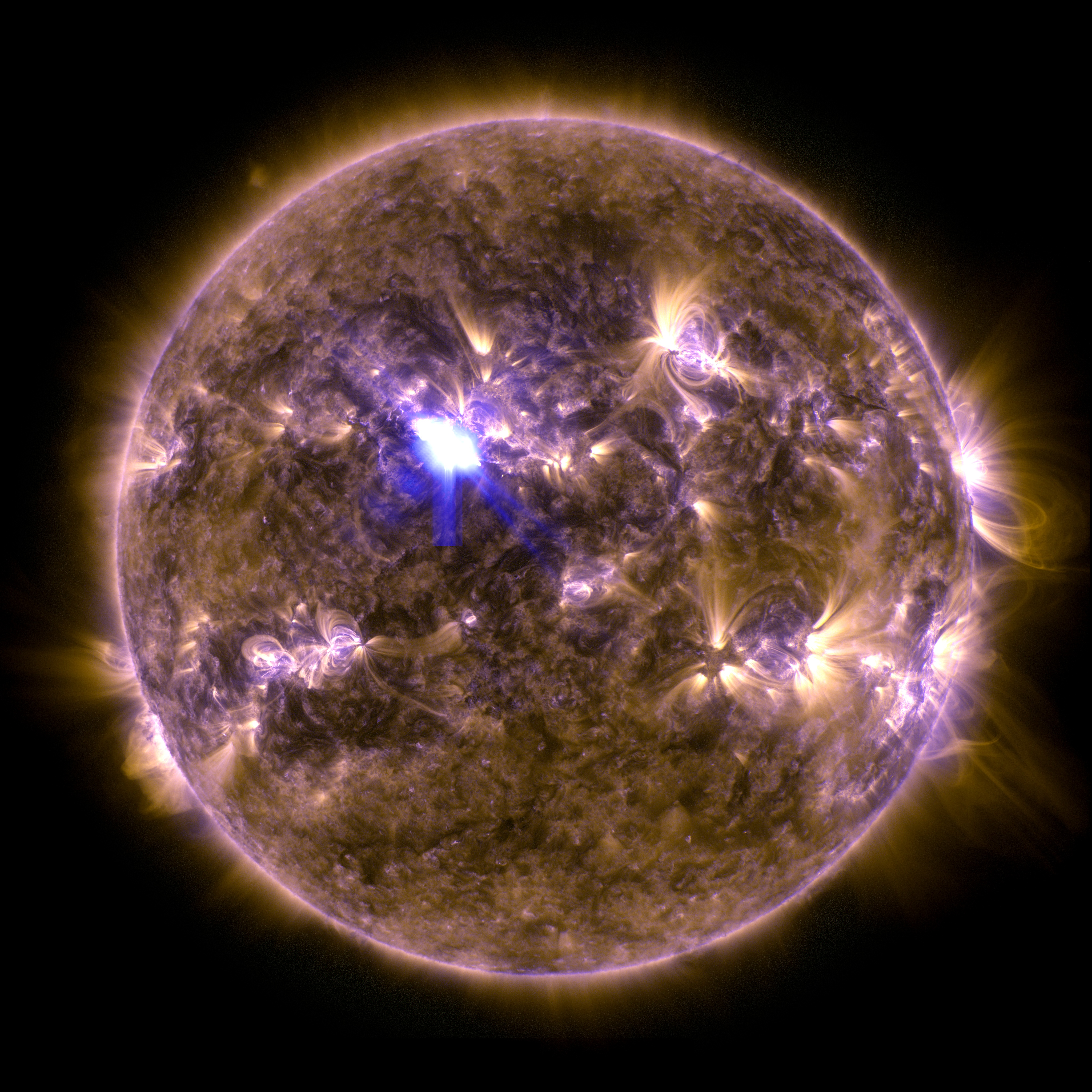 Sun From Space: Spring Fling: Sun Emits A Mid-Level Flare