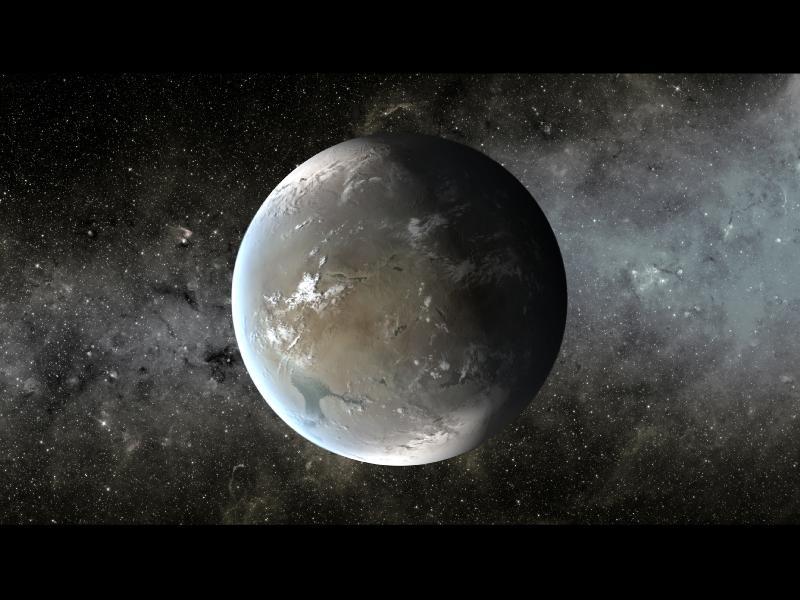 Illustration de Kepler-62f
