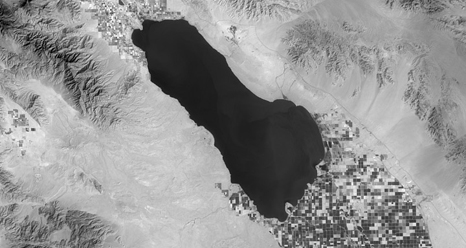 LDCM image of Salton Sea