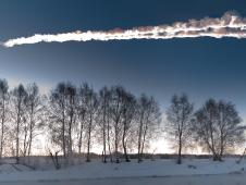 Fireball Sstreaking over Russia