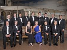 The entry, descent and landing team of NASA's Mars Science Laboratory project received the 2013 Trophy for Current Achievement from the Smithsonian National Air and Space Museum on April 24, 2013