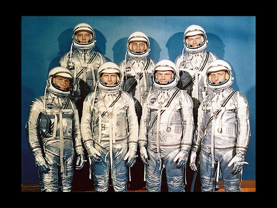 mercury 7 astronauts walking - photo #3