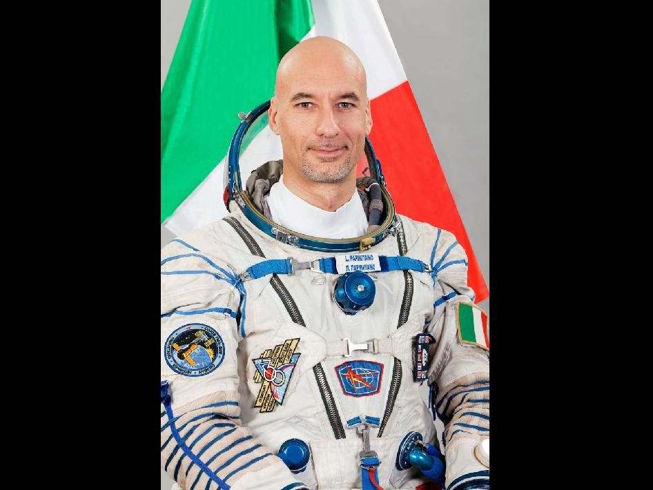 European Space Agency Astronaut Luca Parmitano