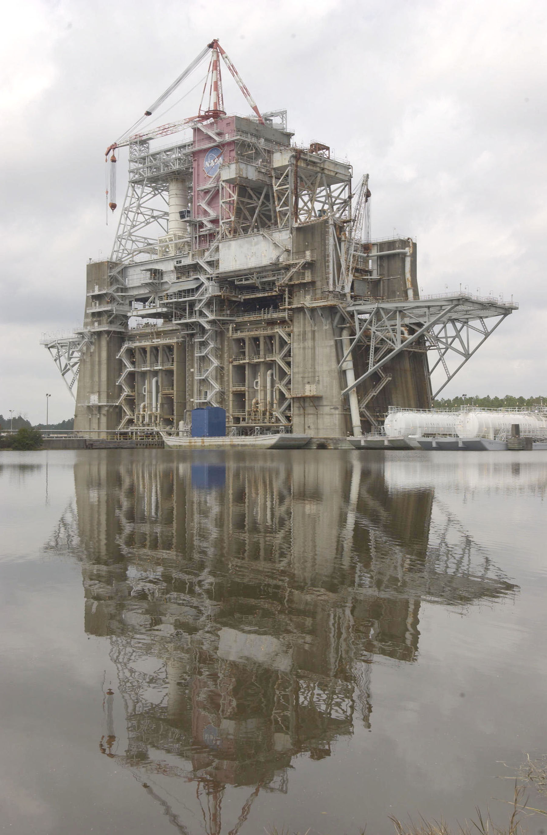 Nasa Test Stands At Stennis Space Center 1960s
