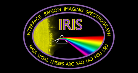 The IRIS mission logo.