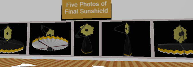 diagrams of winning team's sun shield concept