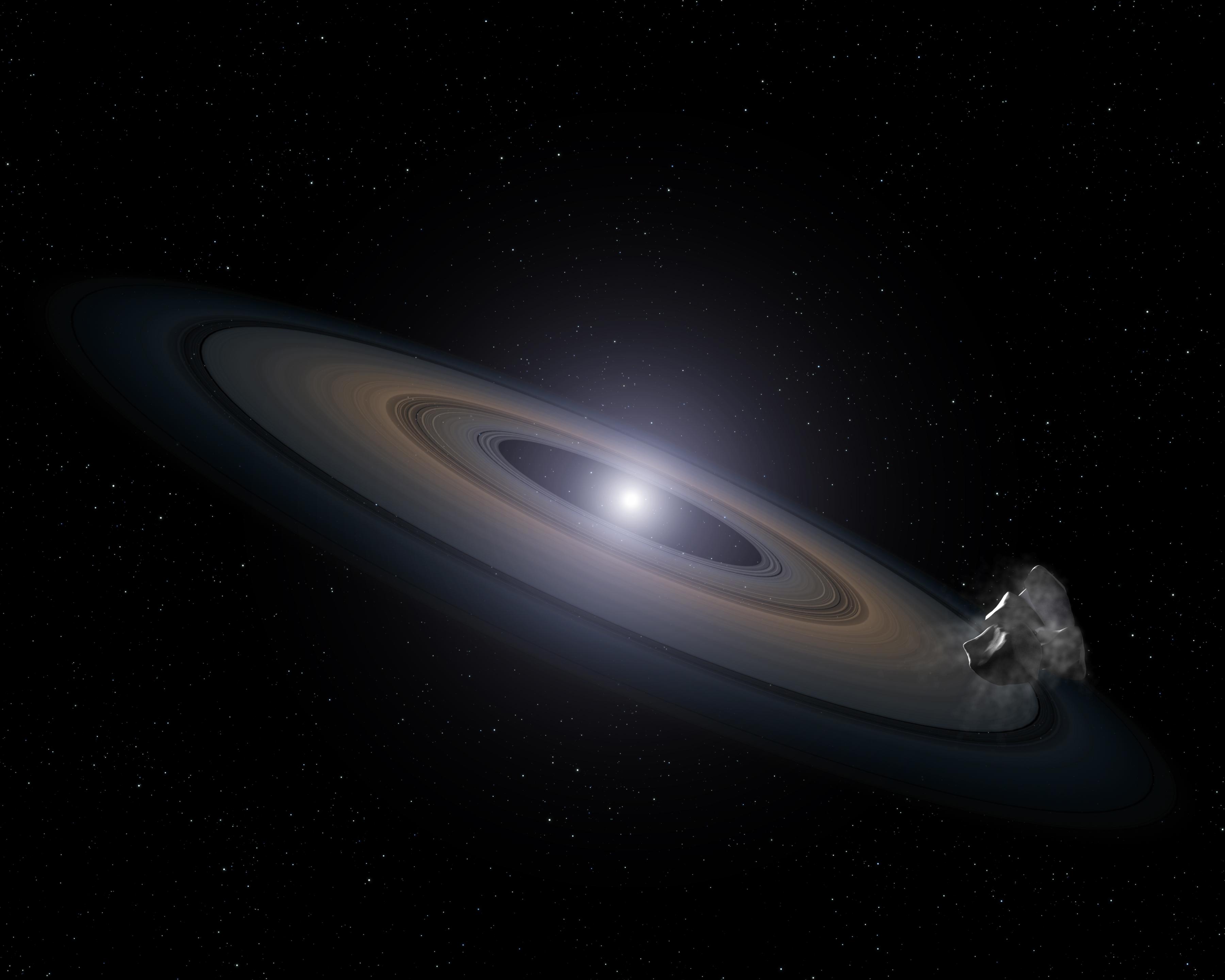 กล้องโทรทรรศน์อวกาศฮับเบิลของนาซ่าพบดาวที่ตายแล้ว