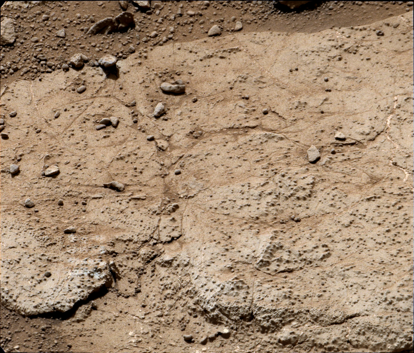 NASA - 'Cumberland' Target for Drilling by Curiosity Mars ...