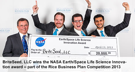 NASA Earth/Space Life Science Innovation Award