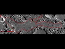 Image from Orbit of Mercury: In Focus: Timgad Vallis