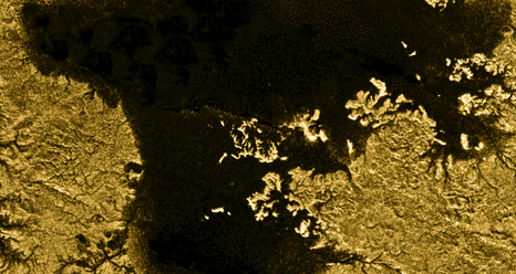 Ligeia Mare is the second largest known body of liquid on Saturn's moon Titan
