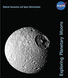 Cover of the Exploring Planetary Moons Educator Guide