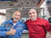 Astronauts Chris Cassidy and Luca Parmitano