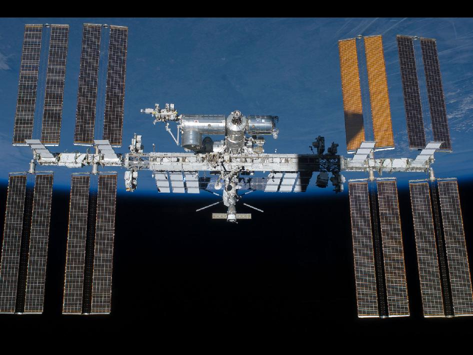 International Space Station on May 29, 2011