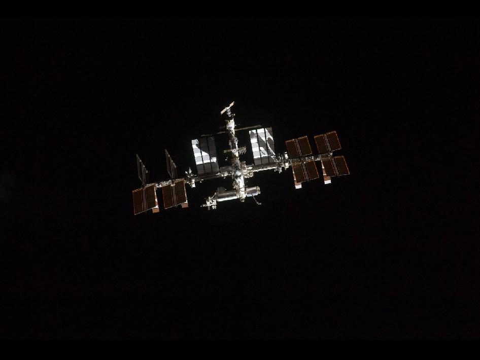 International Space Station on July 10, 2011