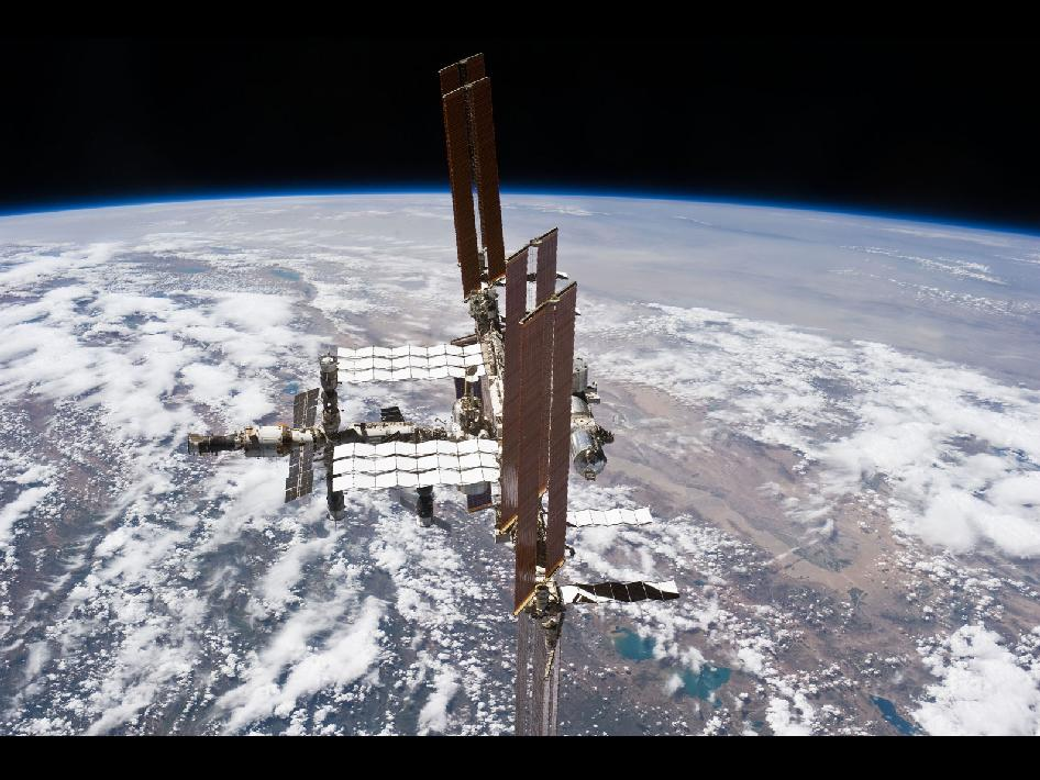 International Space Station on July 19, 2011