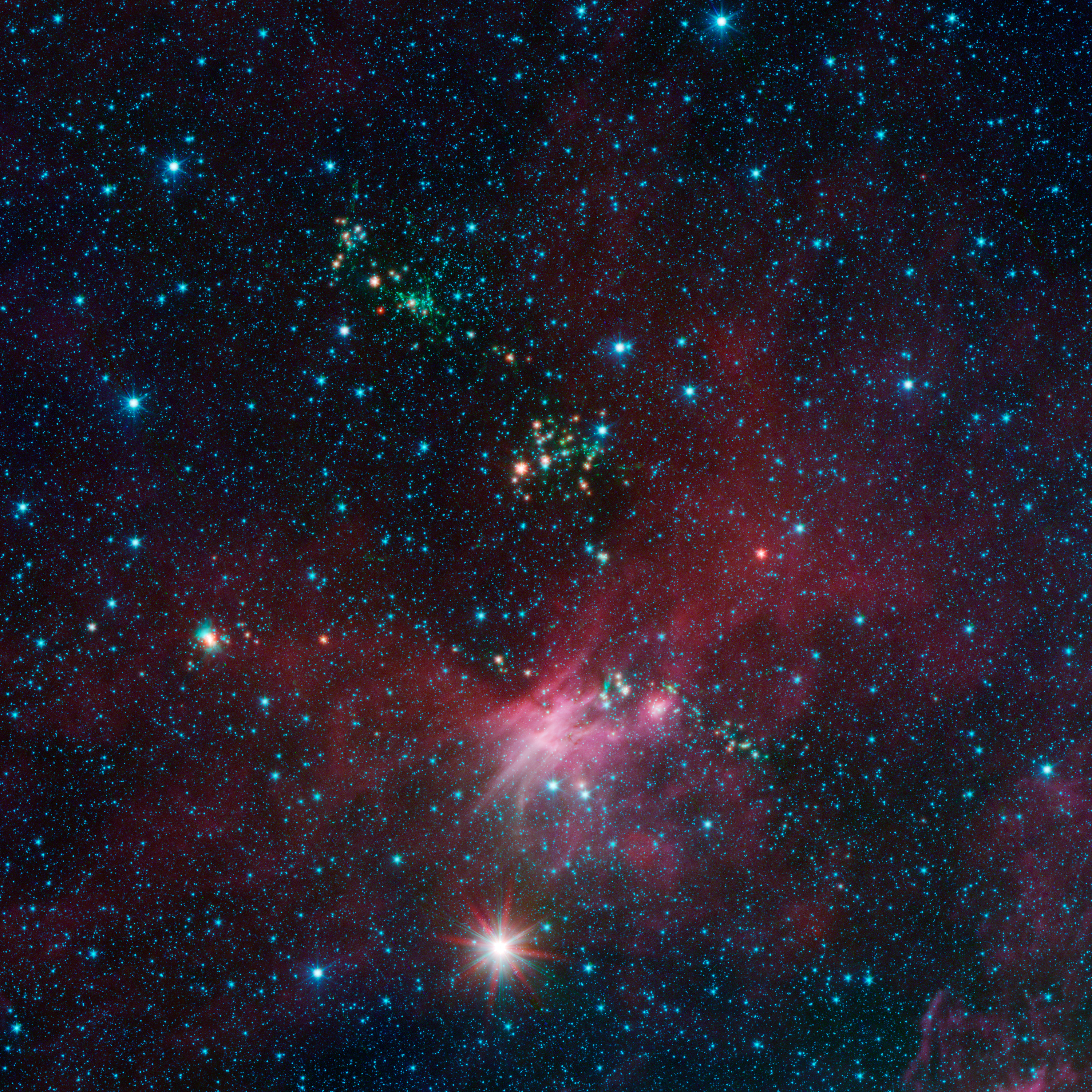 NASA - Stars Shoot Jets in Cosmic Playground