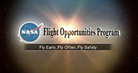 Flight Opportunities | NASA
